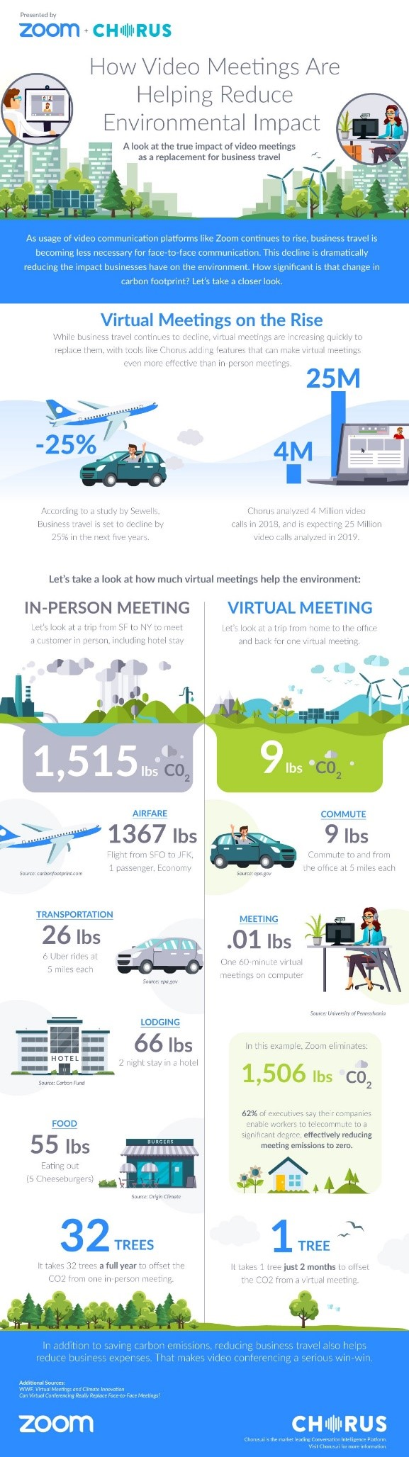 Zoom Video - Infographic