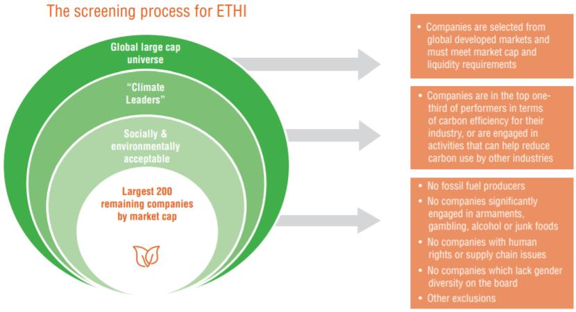 ETHI screening process